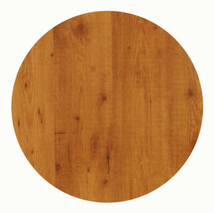 Werzalit Tischplatte 80 cm rund Pinie wetterfest Ersatztischplatte Bistro 321