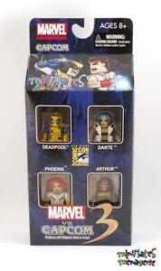 Marvel vs Capcom 3 Minimates SDCC Exclusive Box Set