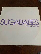"DJ Vinyl 12"" Sugababes  Follow Me Home PROMO Remixes"