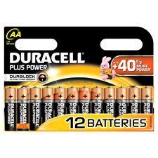 Piles jetables AA alcaline Duracell pour équipement audio et vidéo