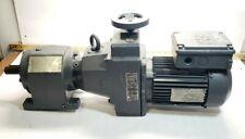 SEW EURODRIVE 1 HP AC MOTOR DF16DT80N4 W/ 41.97:1 GEAR REDUCER 9.9-49 RPM OUTPUT
