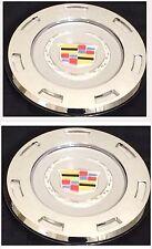 """NEW 2007-2014 COLOR CREST CADILLAC ESCALADE 22"""" WHEEL CENTER CAP HUB set of 2pcs"""