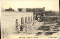 Sidi-Okba Algerien Algeria ~1900 Entrée de la Mosquée Moschee Vintage Postcard