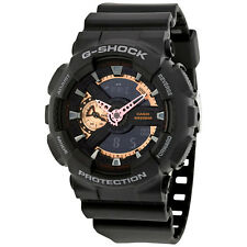 Casio G-Shock Black Dial Resin Mens Watch GA110RG-1A
