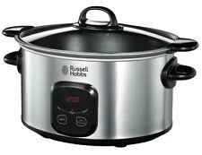 Russell Hobbs 6L Digital Slow Cooker w/Searing Pot FOR 220 VOLT OVERSEAS ONLY