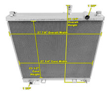 3 Row SR Radiator For 2004 2005 2006 2007 2008 2009 2010 Nissan Titan V8 Engine