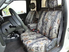 1995-2000 Toyota Tacoma Front 60/40 Split Exact Fit Seat Covers Forest Camo save