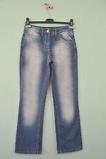 Re-ject.de Womens Stonewashed Casual Cotton Blue Classic Jeans sz XS UK8 R27