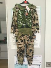 halloween  spooky swamp zombie costume new with tag 5 - 6 years
