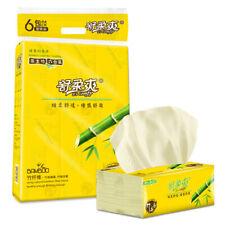 SHUROUSHUANG 6 Packs Of Napkin Kitchen Toilet Draw Tissue