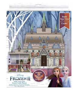 Disney Frozen 2 II Playset Make Your Own Castle Olaf Anna & Elsa