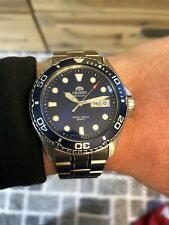 Orient Mako II 41.5 mm Automatic Dive Watch Day Date Feature Box And Papers Link
