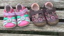 Lot Of Toddler Baby Girl Shoes Maryjanes Robeez Stride Rites Sz 3