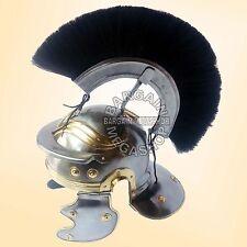 Christmas Presents Roman Centurion Helmet Armor + Black Crest Plume & LINER