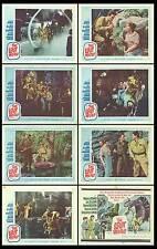 THE LOST WORLD orig lobby card set DAVID HEDISON/MICHAEL RENNIE/JILL ST. JOHN