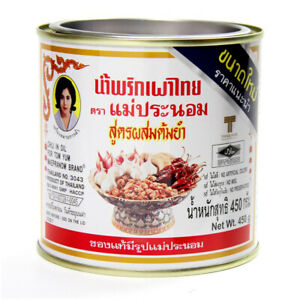 450g Thai Chili Paste in Oil Mixed Sauce for Tom Yum Soup Food Recipe MAEPRANOM