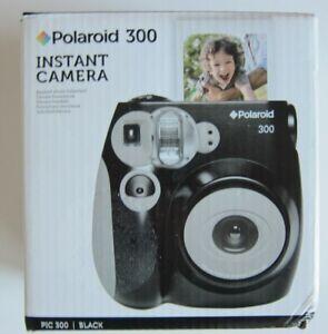 Polaroid 300 Sofortbild Kamera Pic 300 Black incl.Batterie POLPIC300BK