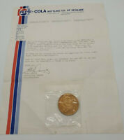 Pepsi Cola Bottling co of Spokane. Limited Edition coin W /Winner letter