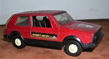 Vintage Tootsie Toy Hatchbacks Diecast VW Rabbit Diesel Toy Car 1/43