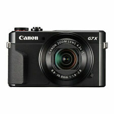 Canon PowerShot G7X Mark II 20.1 MP Digital Camera (FACTORY REFURB, WARRANTY)