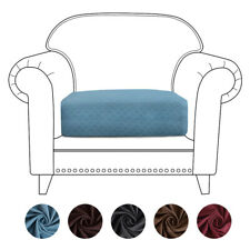 1 Seater Stretch Single Cushion Sofa Cover Chair Couch Elastic Slipcover Protect