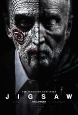 "JIGSAW - 13""x19"" Original Promo Movie Poster MINT Cinemark XD SAW Tobin Bell"