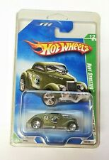 Hot Wheels 2009 Treasure Hunt NEET STREETER Green Car 12/12 NOC In Protector