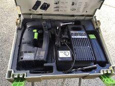 FESTOOL FESTO   9.6V cordless drill IN CASE CHARGER