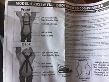 Tashin Tree Stand Hunting Full Body Harness Safety Belt Model 2013W T188-1