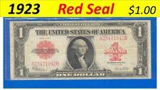 1923 ~~ RED ~~~ $1.00 =  FR # 40 = A23471942B