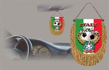 ITALY SOCCER FLAG CAR MINI BANNER, PENNANT