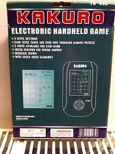 Sous un quart du commerce de détail. écran tactile électronique kakuro (similaire à sudoku)