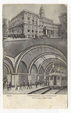 1907 NYC UNDERGROUND LOOP STATION POSTCARD PC5652