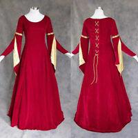 Medieval Renaissance Gown Dress Costume Wedding XL 1X