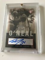 2003/04 Topps Pristine Shaquille O'Neal Autograph Lakers
