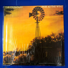 The Crusaders - Free As The Wind (LP, Album)