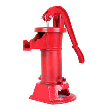 Hand Pump Cast Iron Well Water Pitcher Press Suction Home Yard Pond Outdoor 25ft