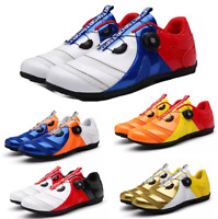 Unisex Road Cycling Shoes Athletic Sport Outdoor Bicycle Bike Sneakers Trainers