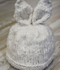 BA003 KNITTING PATTERN BABY or CHILDS BUNNY HAT WITH EARS (14 TO 18 IN HEAD)