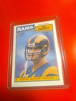 1987 Topps Super Rookie JIM EVERETT # 145 Free Shipping