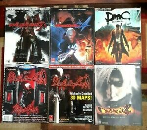 Devil May Cry 1/1/2/3/4/DMC Strategy Game Guide Lot Guides