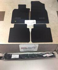Toyota Camry 2018 Black Carpet Floor Mats & Hideaway Cargo Net Genuine OEM OE