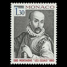 Monaco 1980 - Publication of Montaigne's Essays - Sc 1230 MNH
