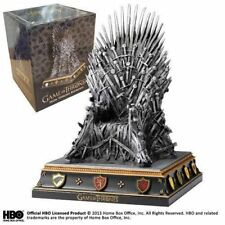 Game of Thrones Noble Collection Il Trono di Spade Fermalibri Iron Throne Statua