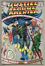 Justice League Of America #53-1967 vg Mike Sekowsky Hawkgirl ( Hawkwoman )