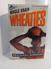 General Mills Wheaties Cereal Box Michael Jordan Chicago Bulls NBA