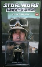 "Casque de collection Star Wars n°74 ""Scarif Rebel Trooper"" (Edition Altaya) (GW)"