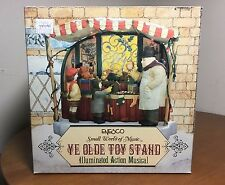 Enesco YE OLDE TOY STAND Illuminated Action Musical Parade of...Wooden Soldiers
