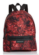Longchamp Le Pliage Neo Fantaisie Backpack_Ruby Red