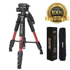 Professional Portable Travel Aluminum Camera Tripod&Pan Head for SLR DSLR